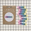 Kylie and the Machine : Woven Labels 8 Pack : Handmade Rainbow