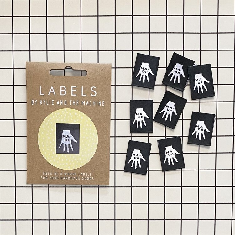 Kylie and the Machine : Woven Labels 8 Pack : Made