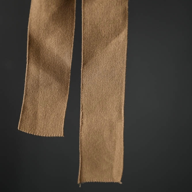 Merchant & Mills : Tan Ribbing : 1 metre