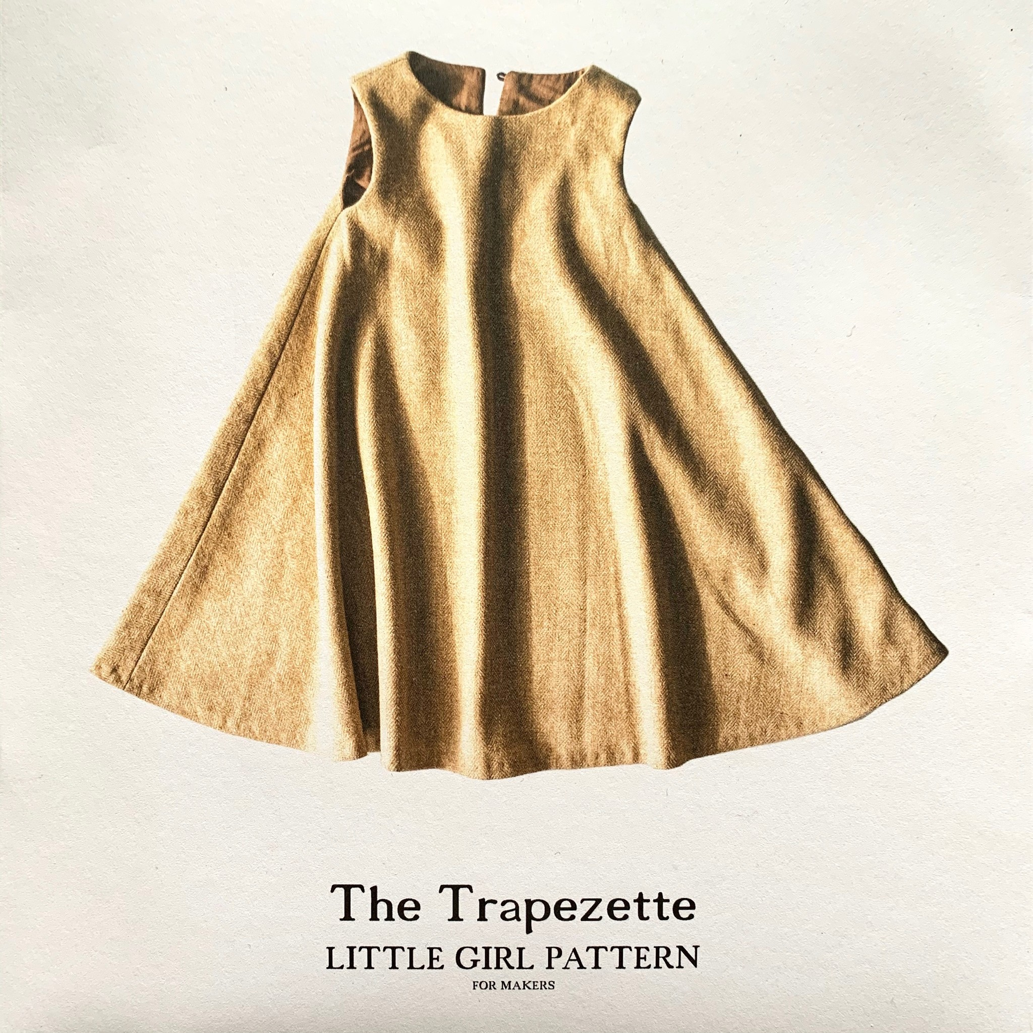 Merchant & Mills : Sewing Pattern : Trapezette