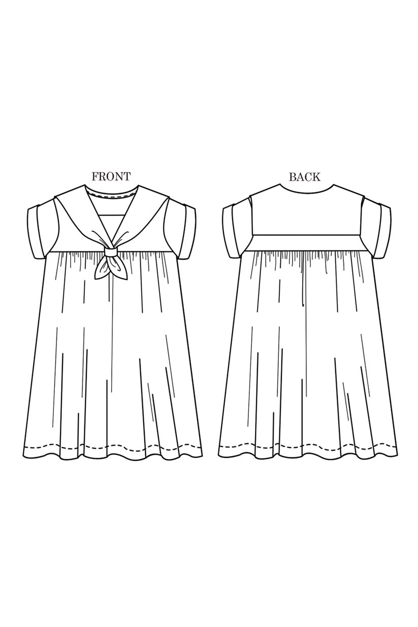 Merchant & Mills : Sewing Pattern : The Skipper