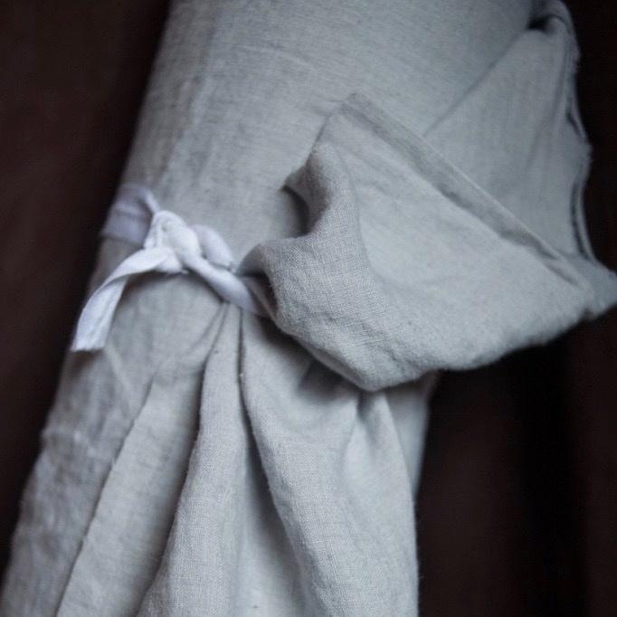 Merchant & Mills : Polar Grey Linen : 1/2 metre