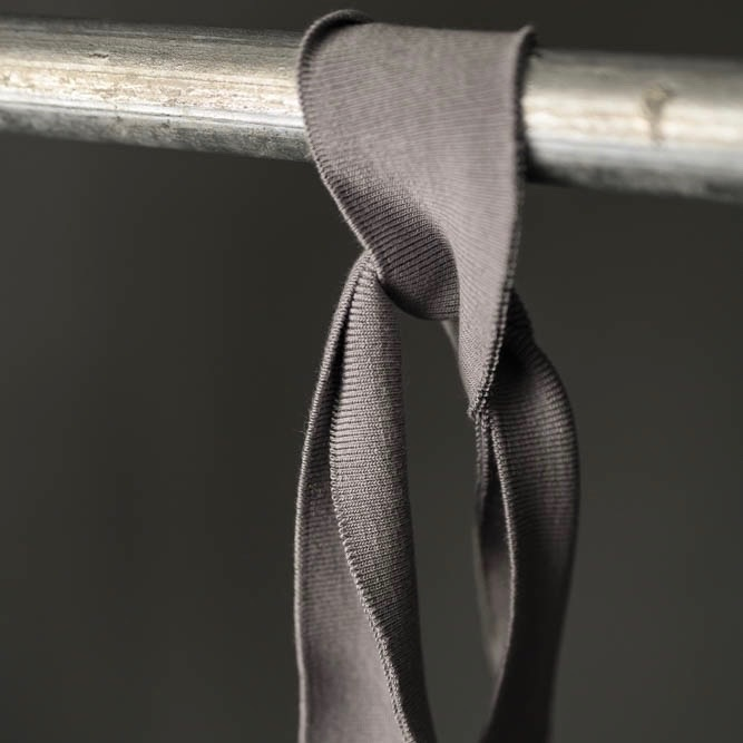 Merchant & Mills : Military Grey Cotton Rib : 1 metre