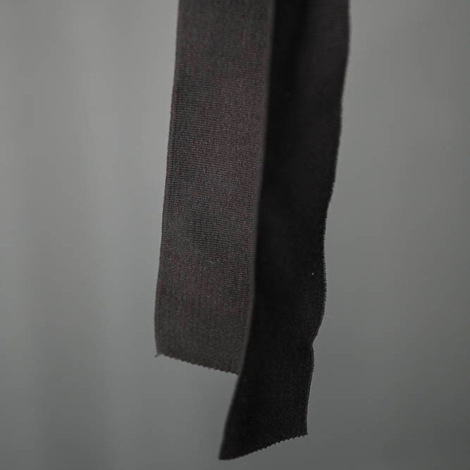 Merchant & Mills : Black Cotton Rib : 1 metre