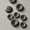Merchant & Mills : Grey Corozo Button : 18mm