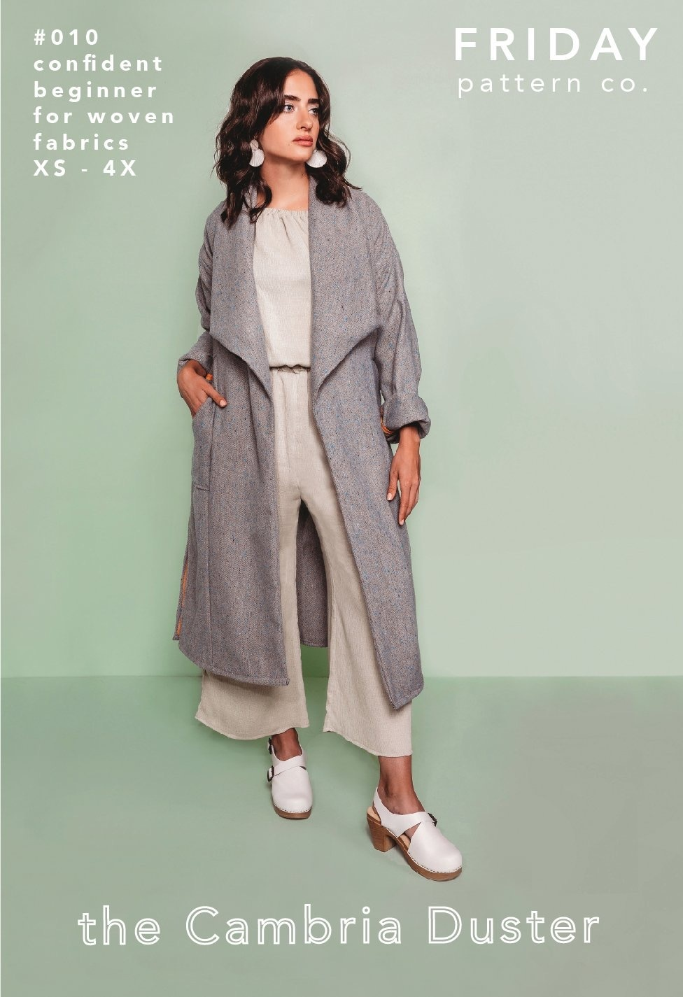 Friday Pattern Co. : the Cambria Duster