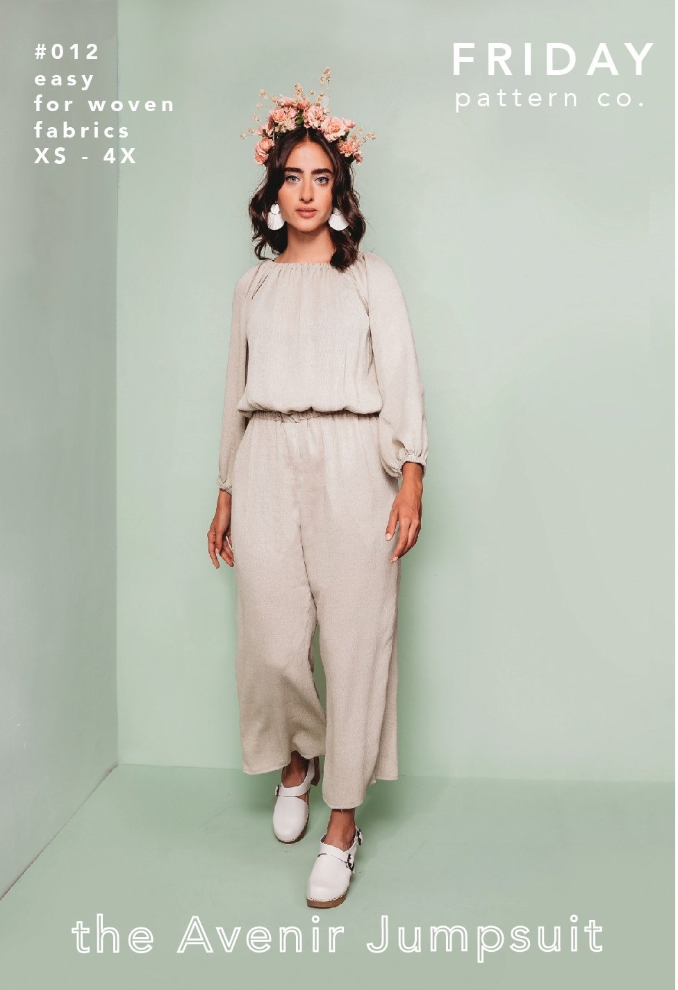 Friday Pattern Co. : the Avenir Jumpsuit