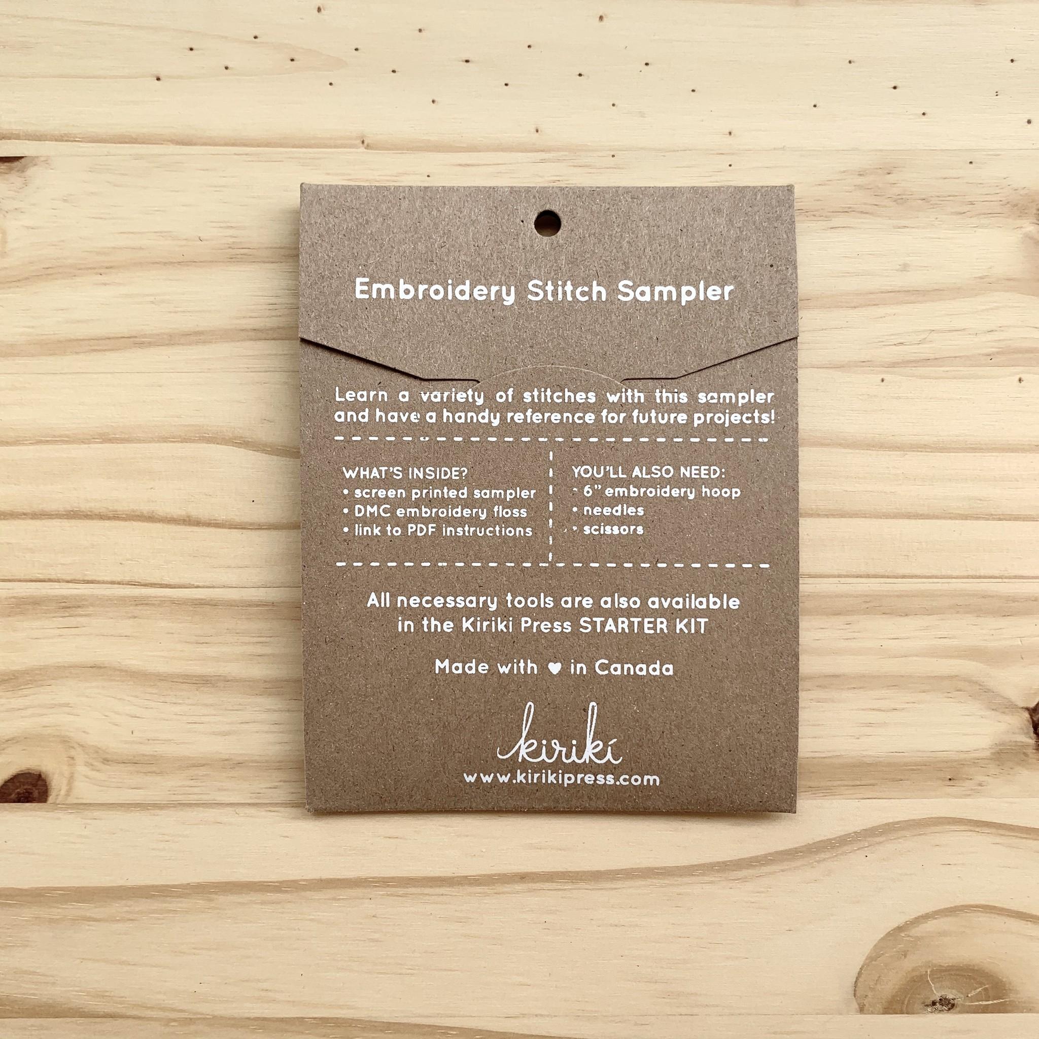 Kiriki Press : Stitch Sampler : Summer