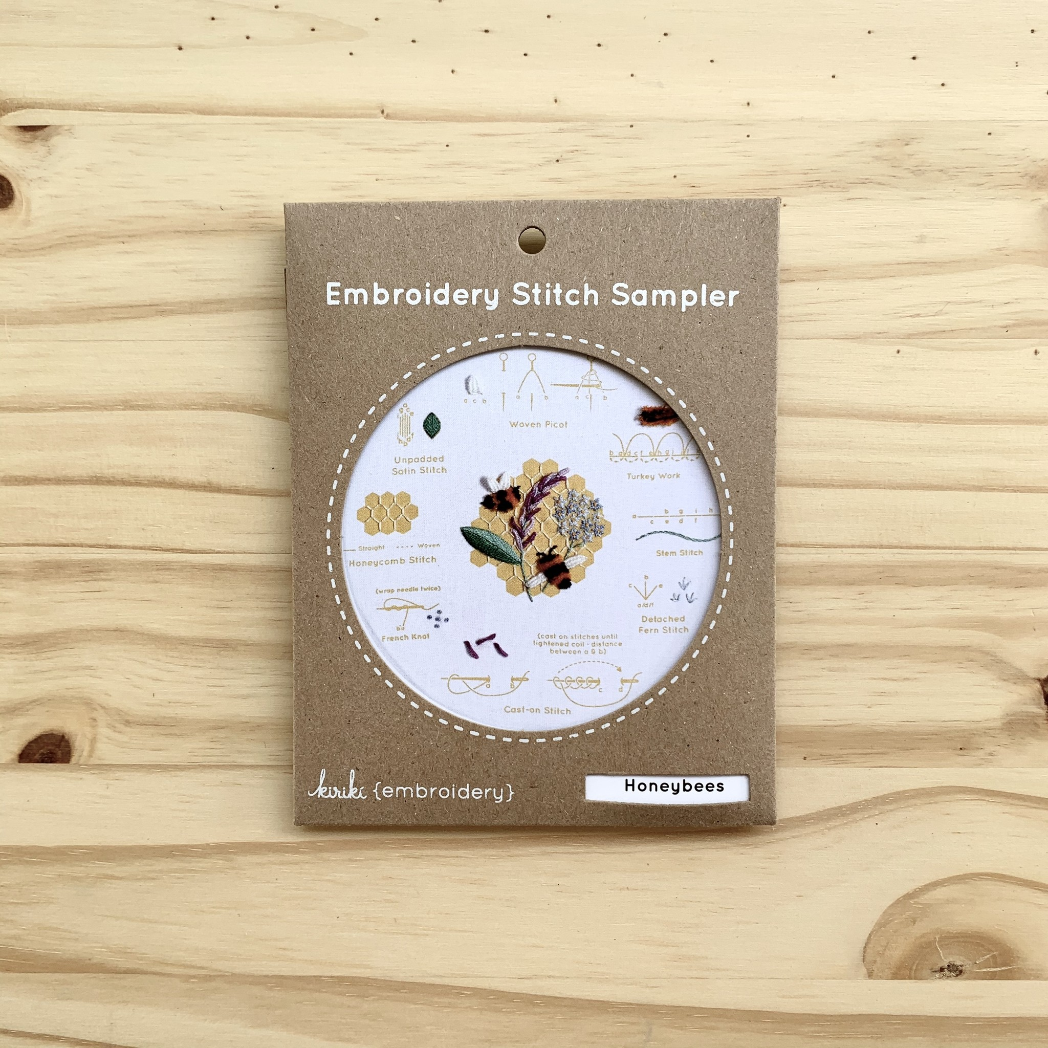 Kiriki Press : Stitch Sampler : Honeybees
