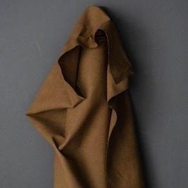 Merchant & Mills : Tobacco Flax/Cotton Dry Oilskin : 1/2 metre