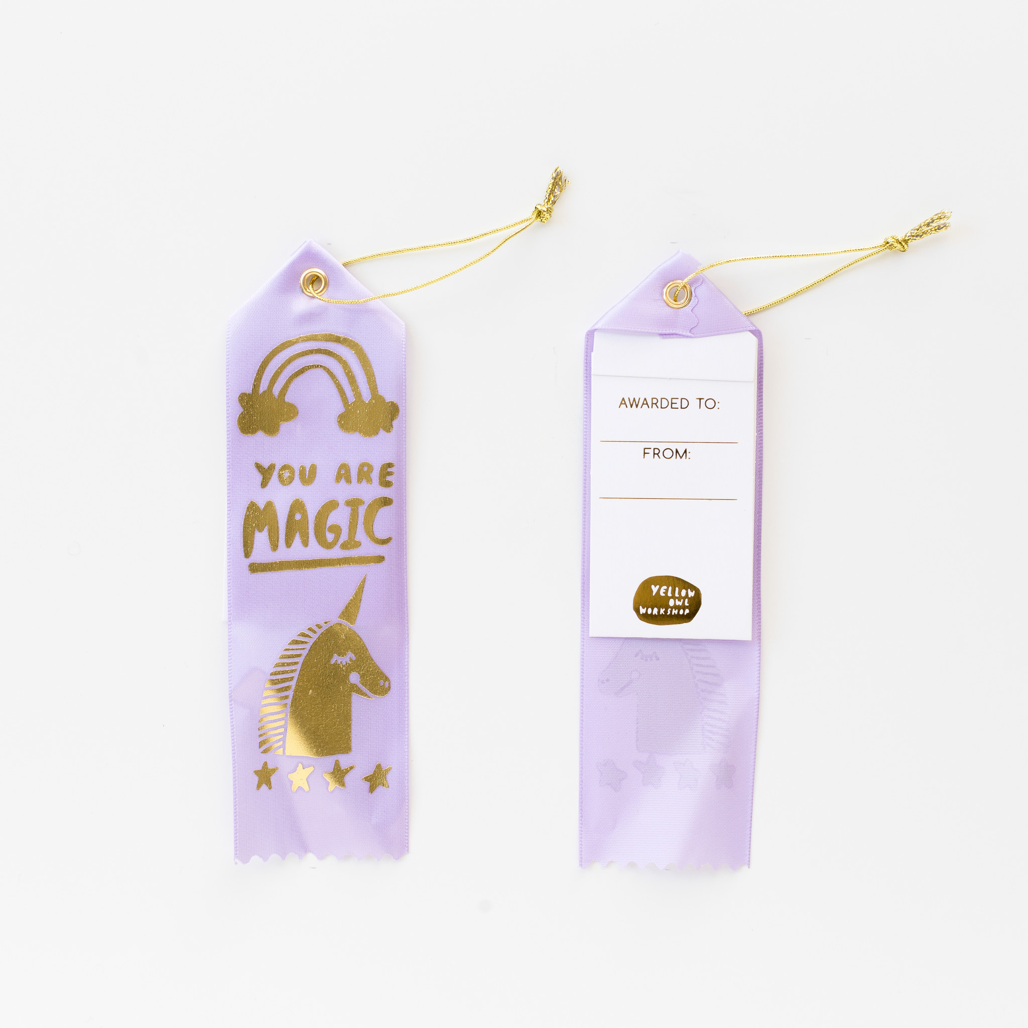Yellow Owl Workshop : Award Ribbon Note : You Are Magic