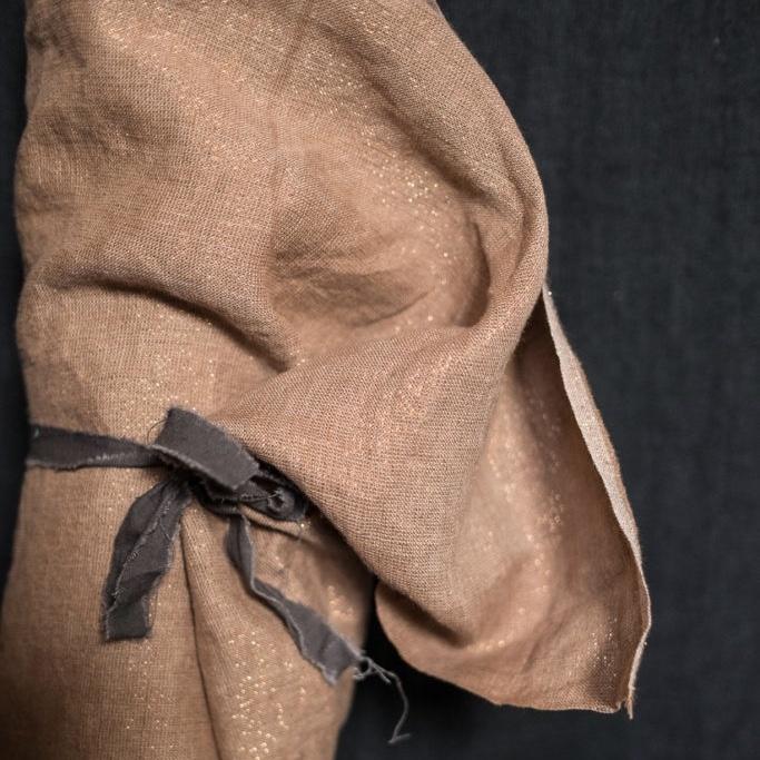 Merchant & Mills : Copper Luxe Linen : 1/2 metre