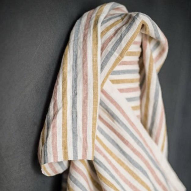 Merchant & Mills : Suzy Stripe Linen : 1/2 metre