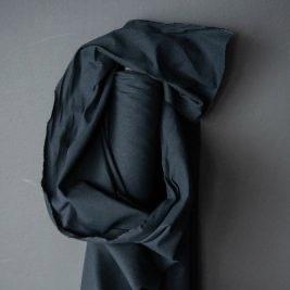 Merchant & Mills : Indigo Flax/Cotton Dry Oilskin : 1/2 metre