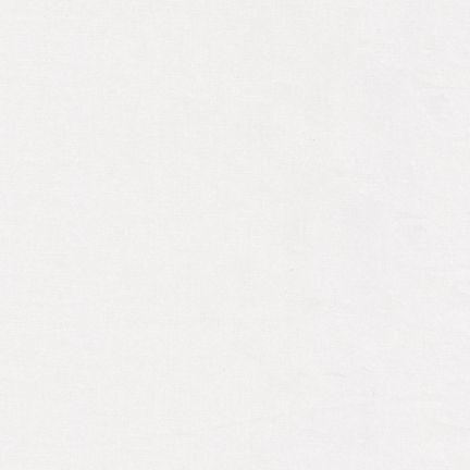 Robert Kaufman : Kona Cotton Solids : PFD Bleach White : 1/2 metre