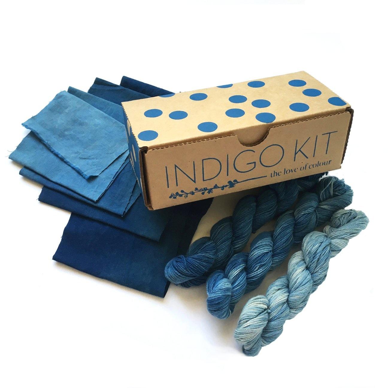 The Love of Colour : Indigo Kit