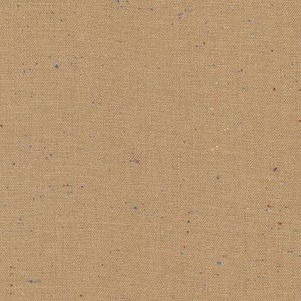 Robert Kaufman :Mocha Essex Speckle Yarn Dyed : 1/2 metre