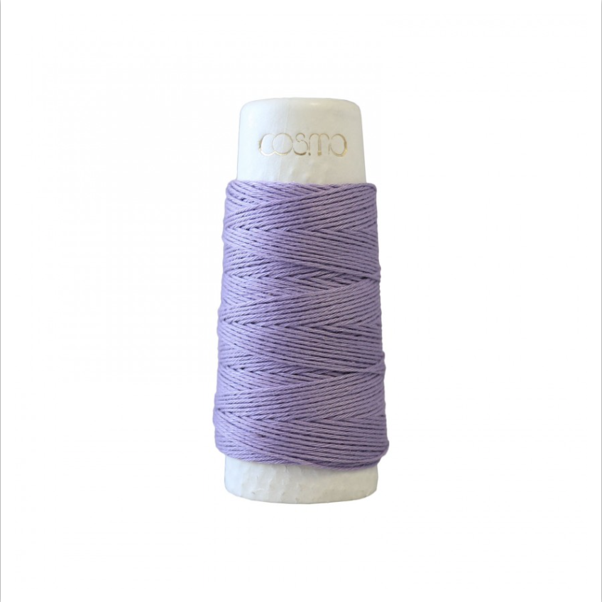Lecien : Cosmo Hidamari Sashiko Thread : 19 Lavender