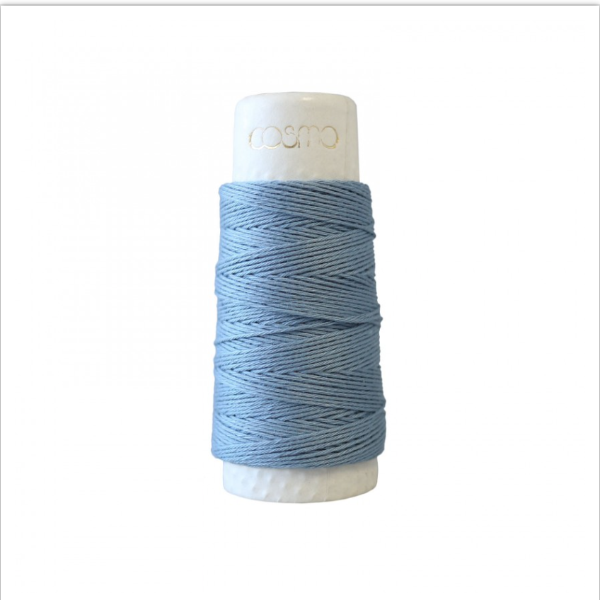 Lecien : Cosmo Hidamari Sashiko Thread : 1 Russian Blue
