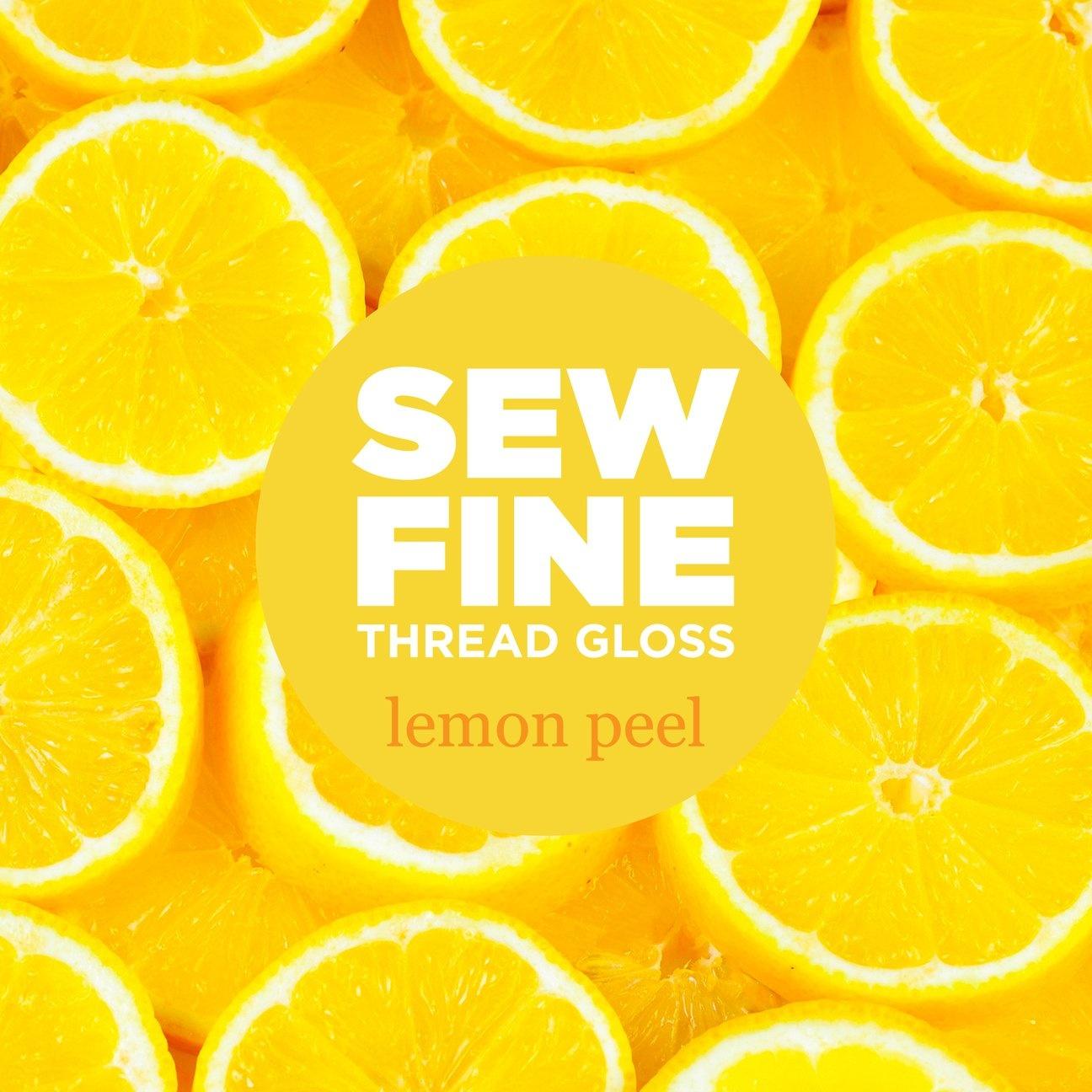 Sew Fine Thread Gloss : Lemon