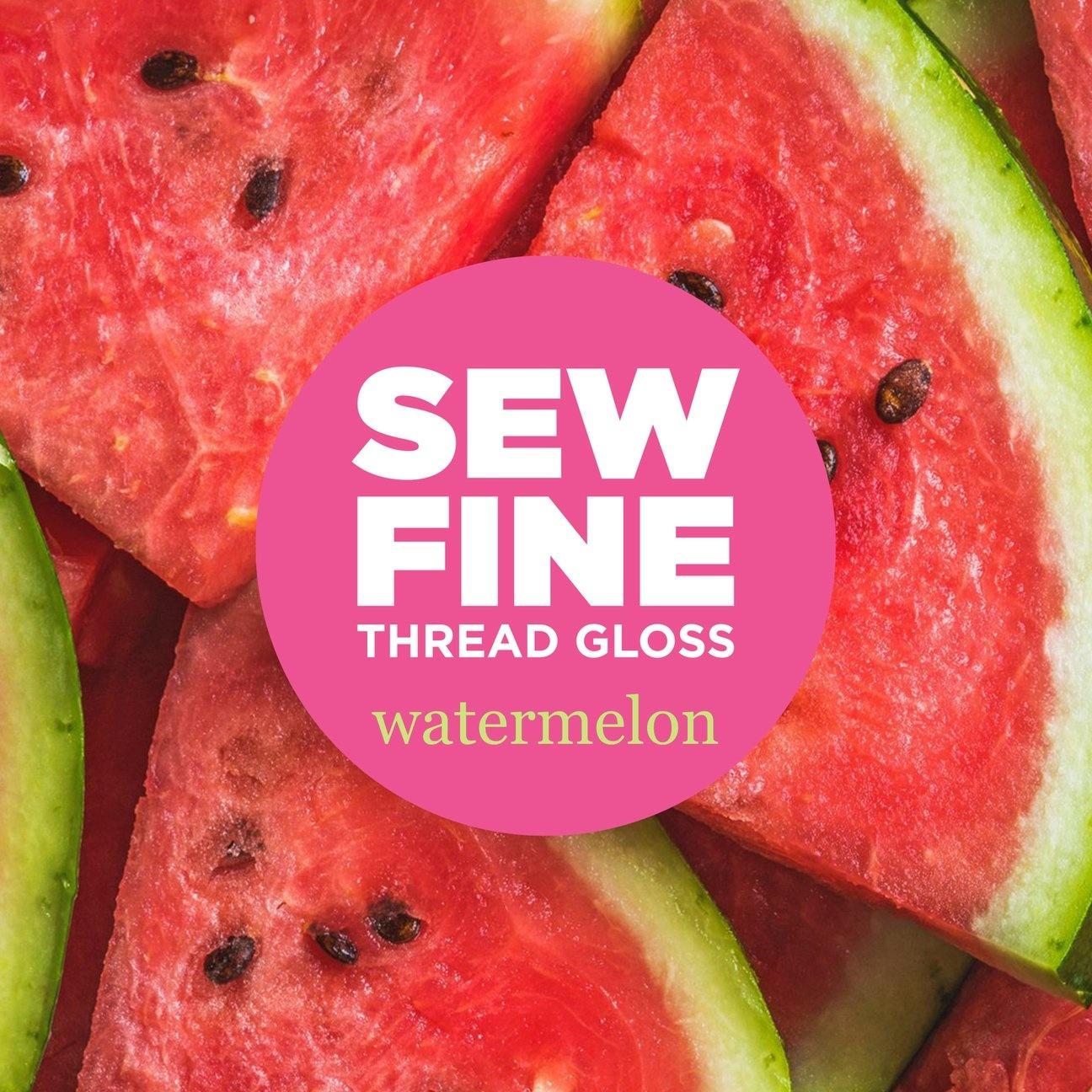 Sew Fine Thread Gloss : Watermelon