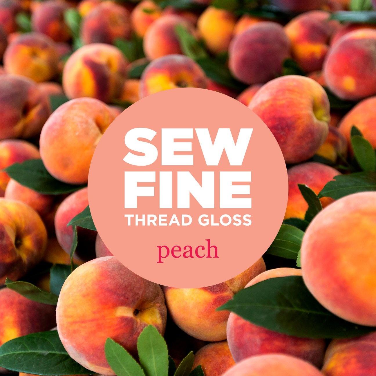 Sew Fine Thread Gloss : Peach
