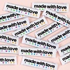 Kylie and the Machine : Woven Labels 8 Pack : Made With Love and Swear Words