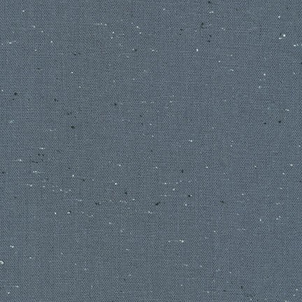 Robert Kaufman : Dolphin Essex Speckle Yarn Dyed : 1/2 metre