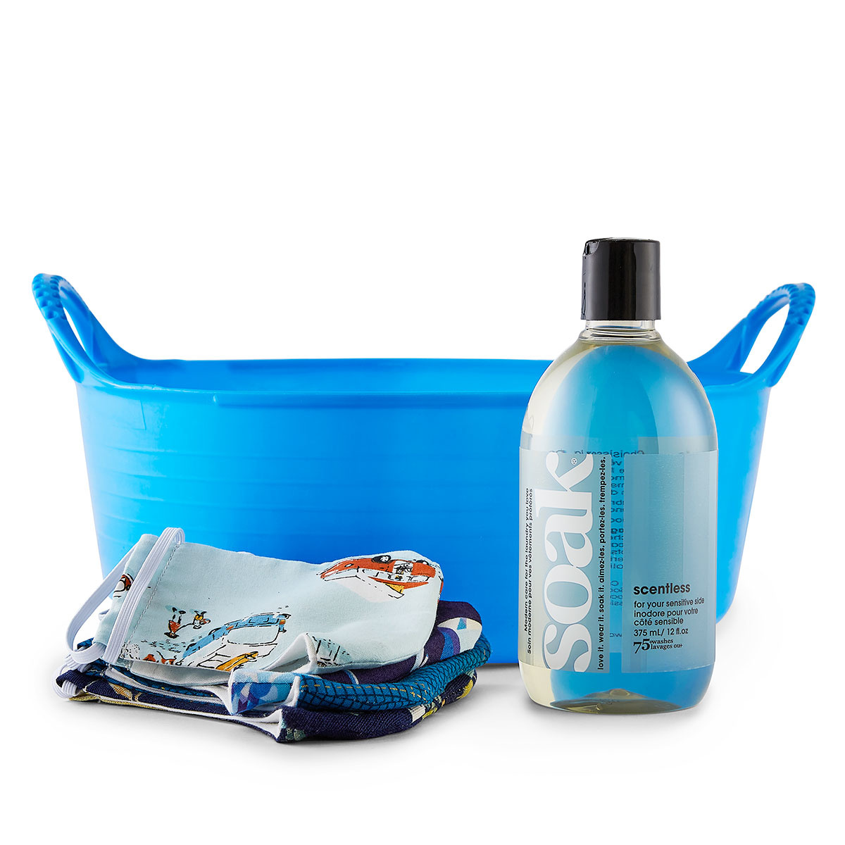 Soak : Minnie Basin Handwashing Kit : Blue + Scentless