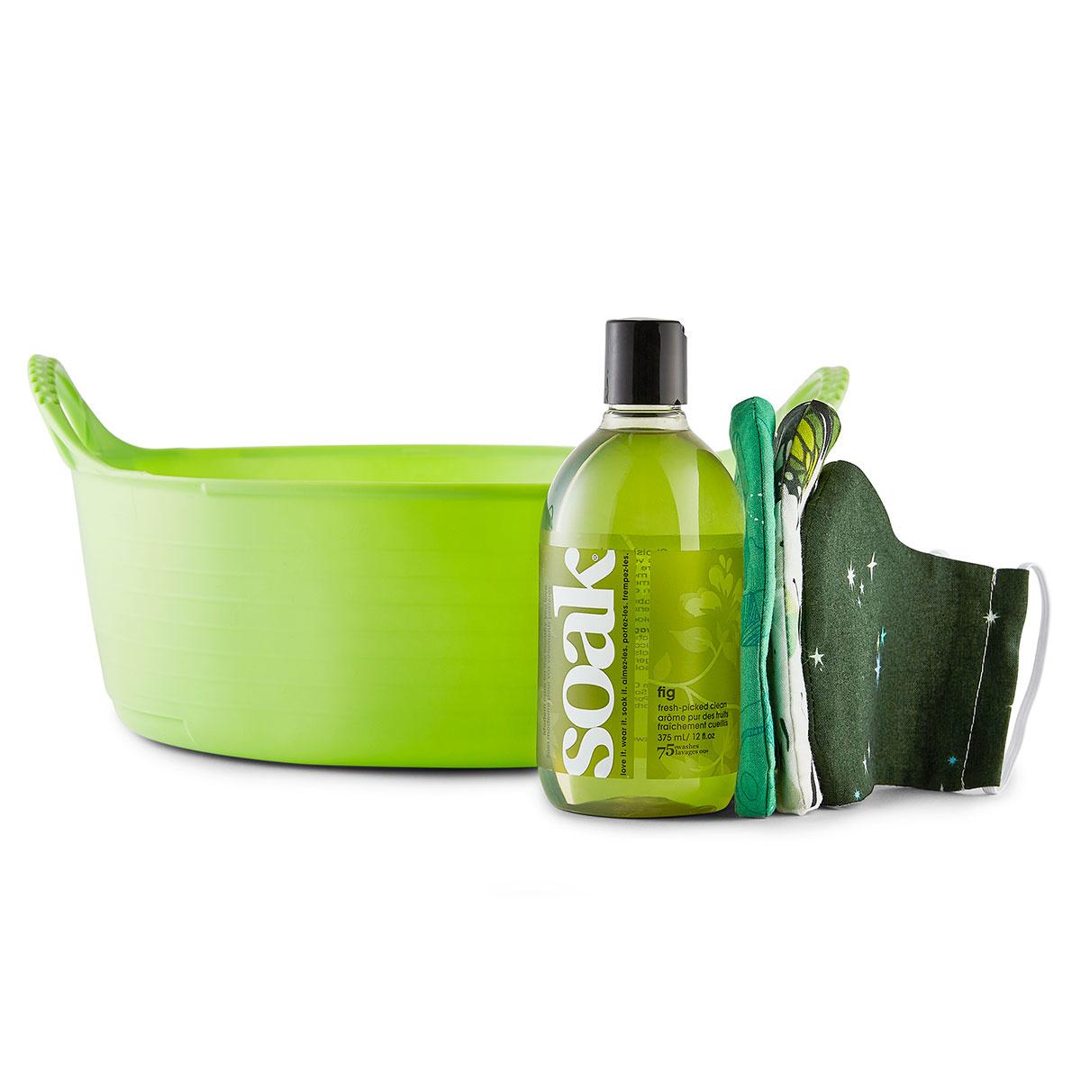 Soak : Minnie Basin Handwashing Kit : Green + Fig