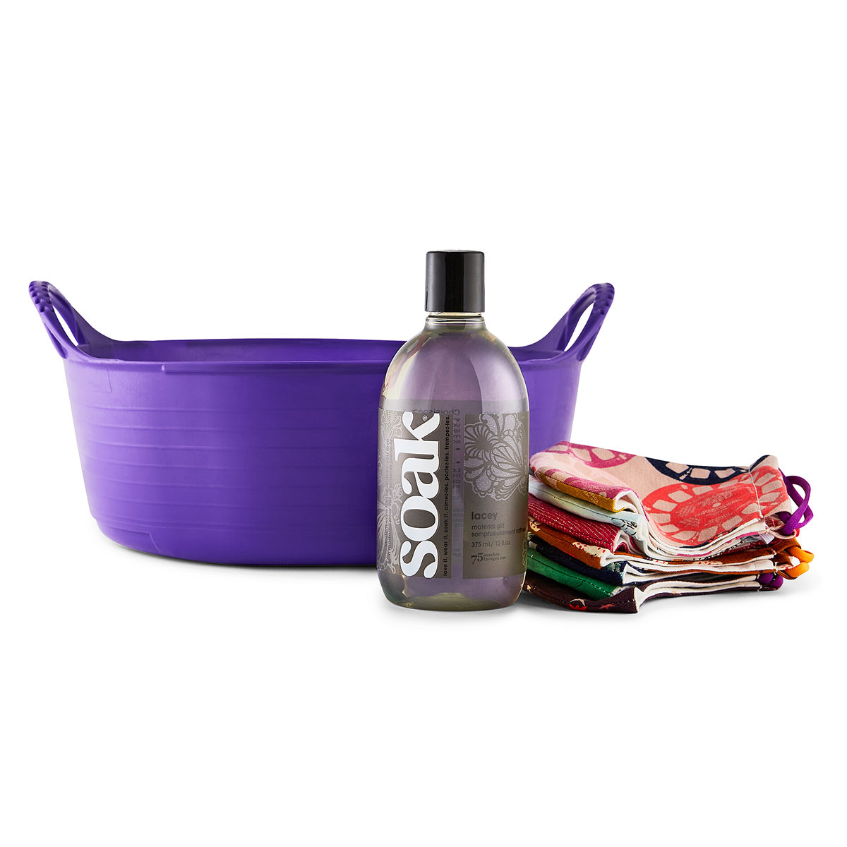 Soak : Minnie Basin Handwashing Kit : Purple + Lacey