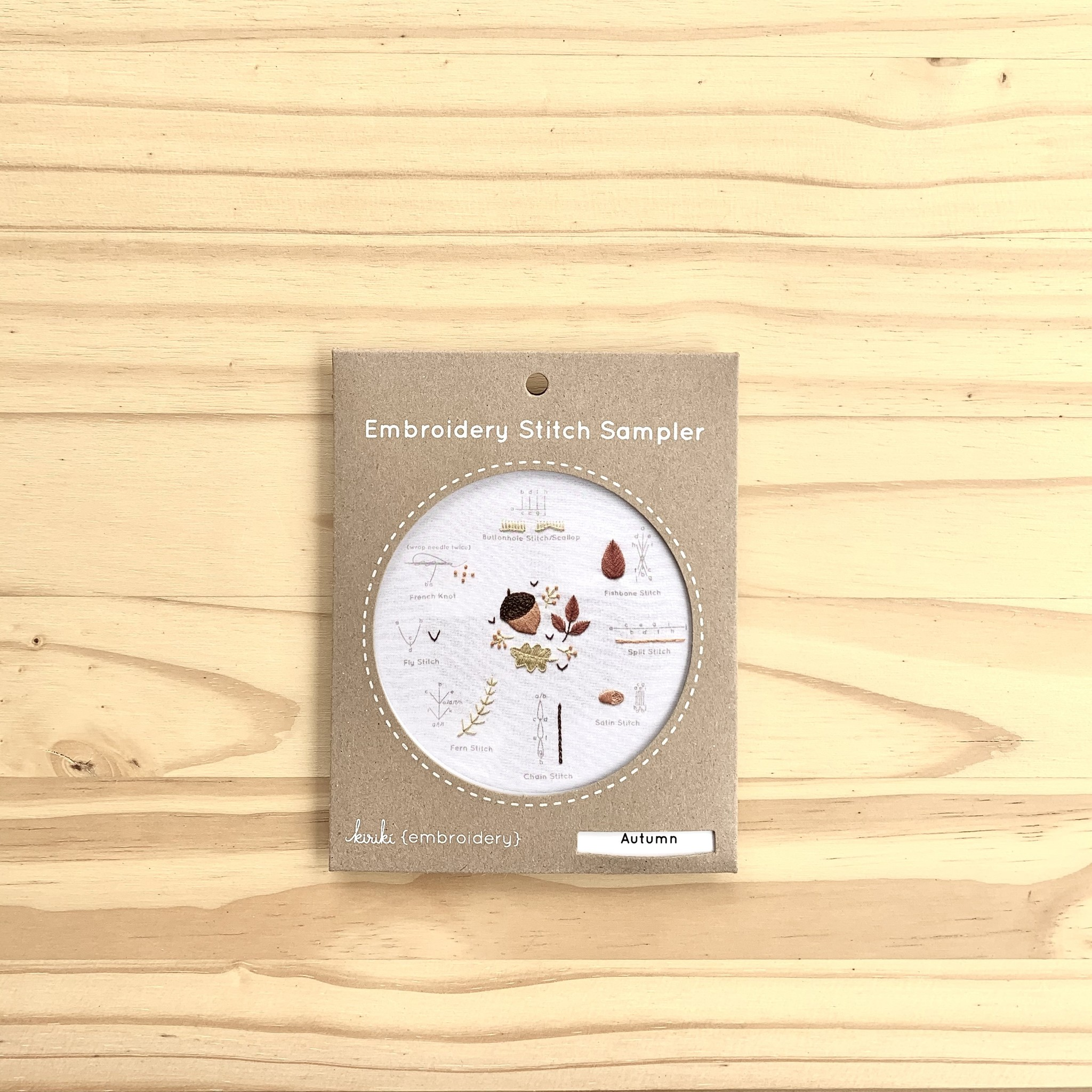Kiriki Press : Stitch Sampler : Autumn