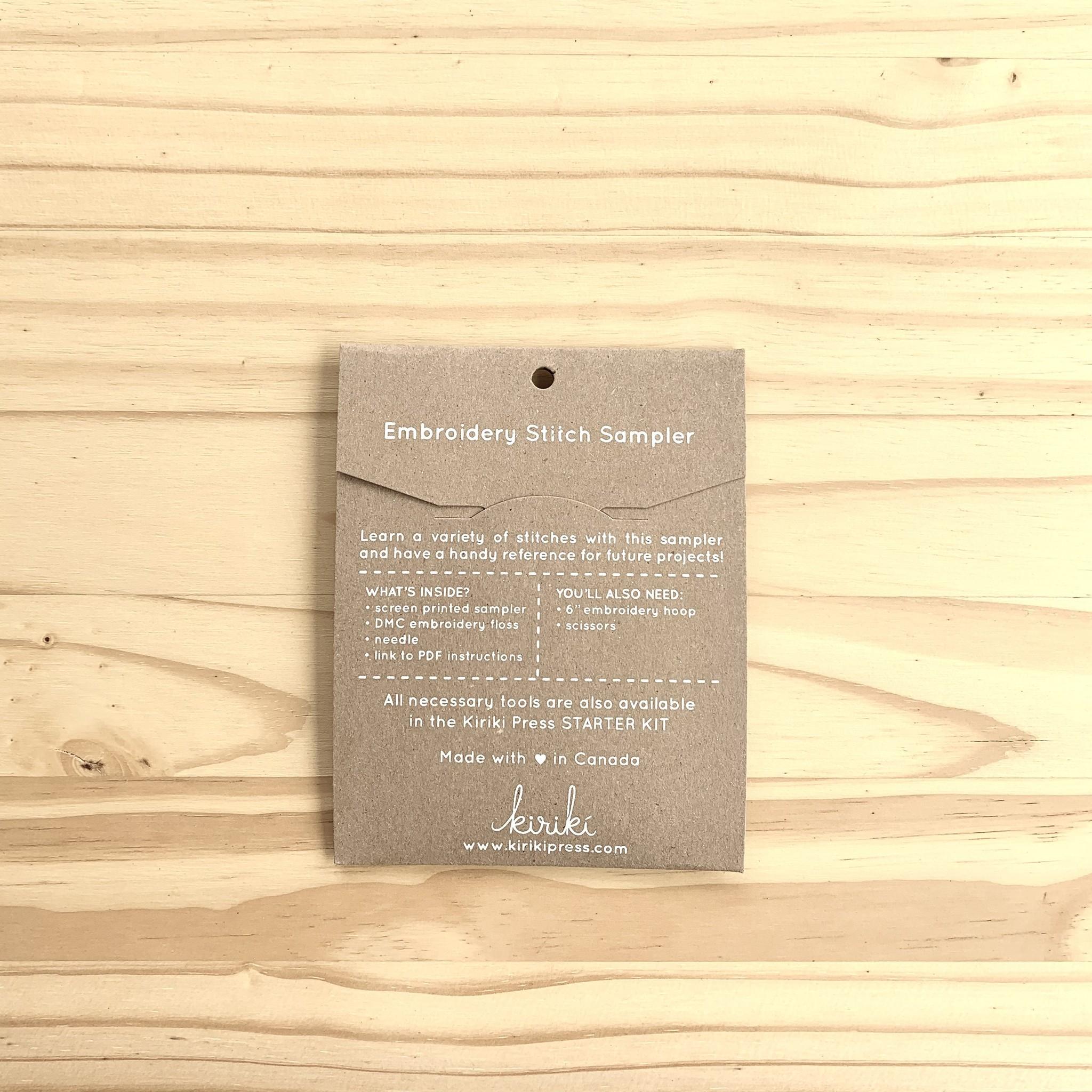 Kiriki Press : Stitch Sampler : Knit Sweater