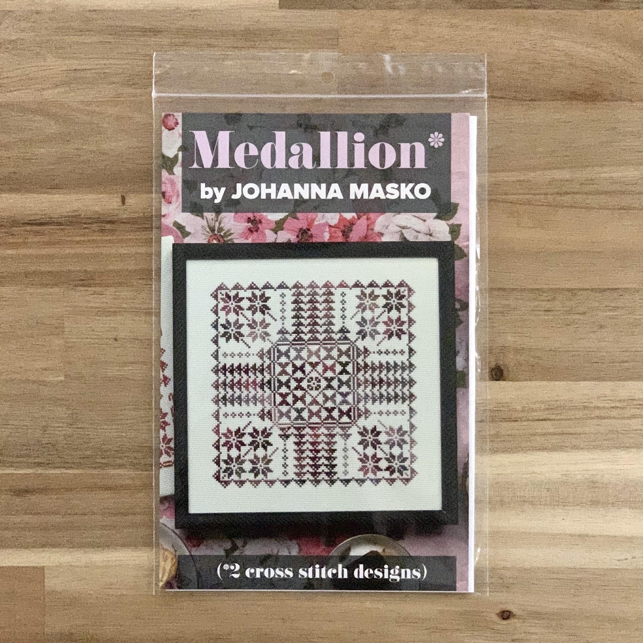 Johanna Masko : Cross Stitch Pattern : Medallion