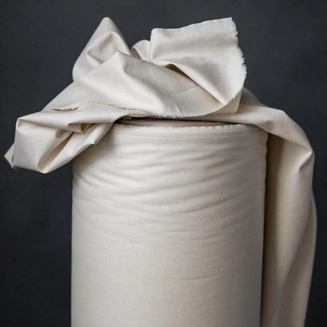Merchant & Mills : Natural Narrow Organic Cotton : 1/2 metre