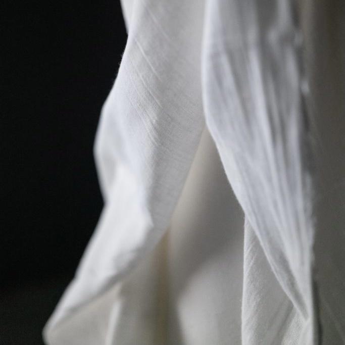 Merchant & Mills : White Organic Double Gauze : 1/2 metre
