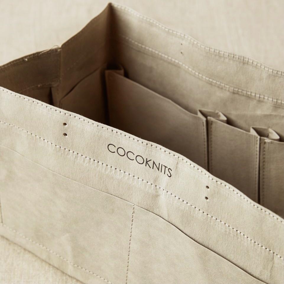 Cocoknits : Gray Kraft Caddy
