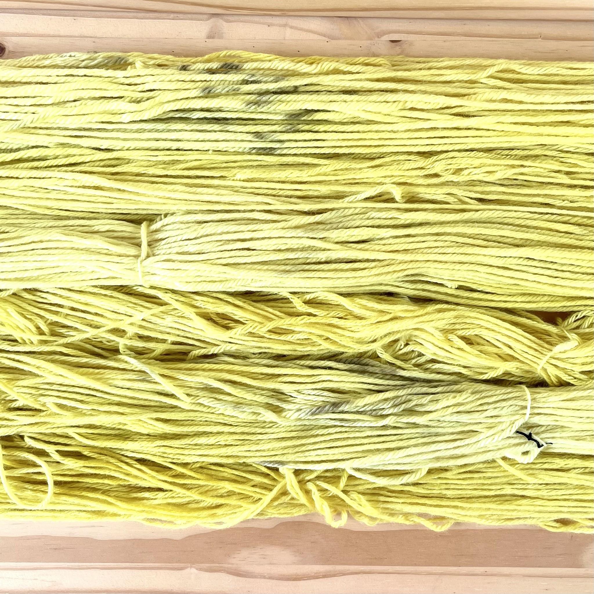 Hand Dyed Yarn : Weld Yellow