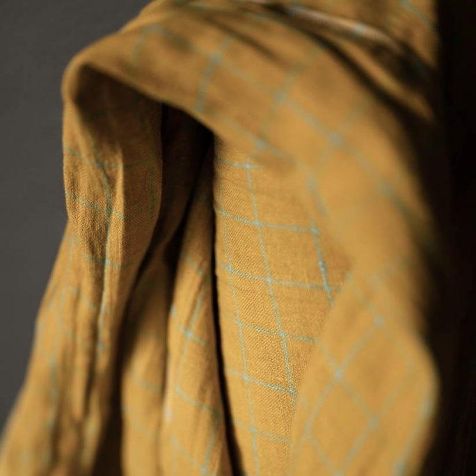 Merchant & Mills : Blooming Marigolds EU Linen : 1/2 metre