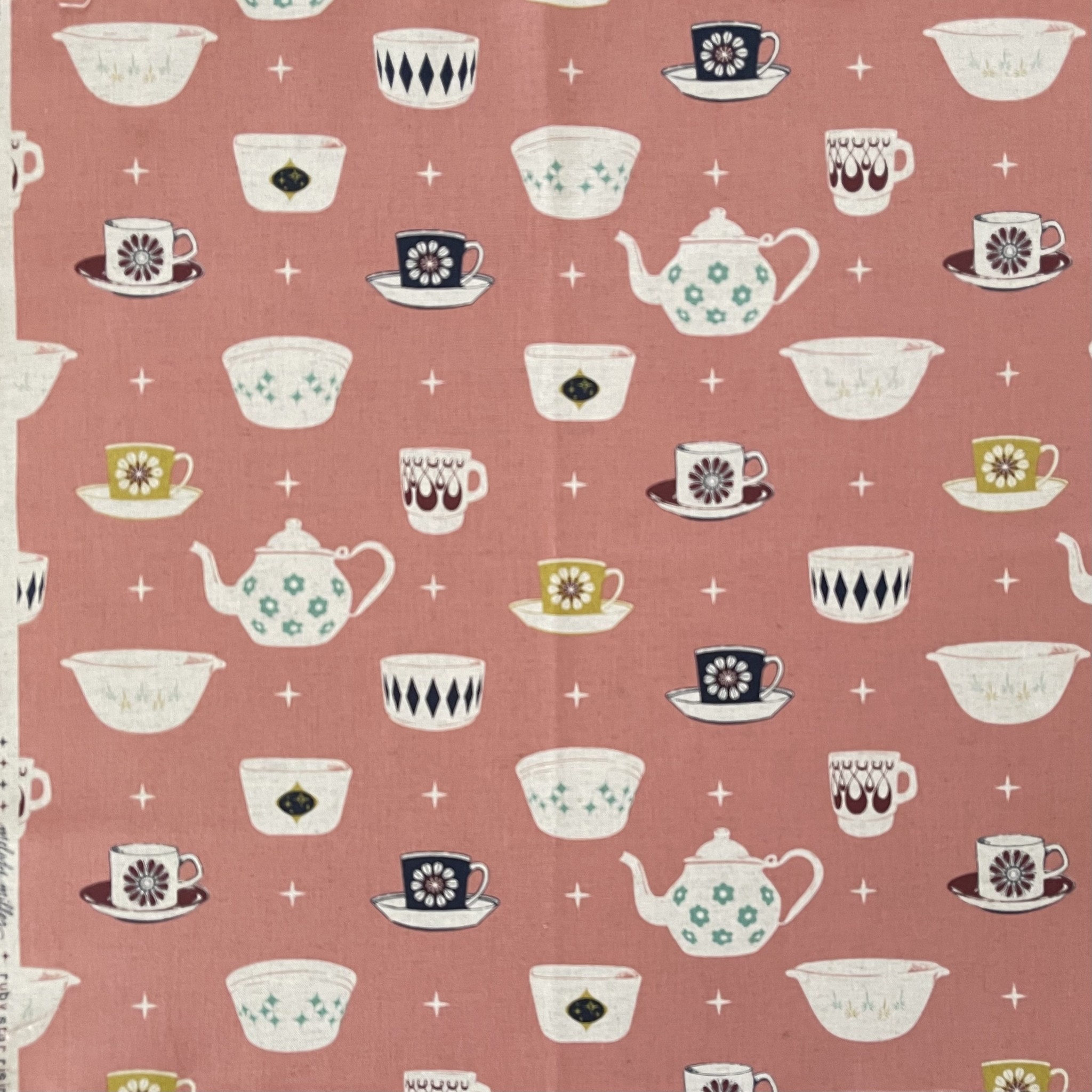 Vintage + Pre-Loved : Teacups in Pink by Melody Miller