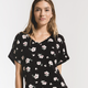 zsupply - the bloom dolman vneck top