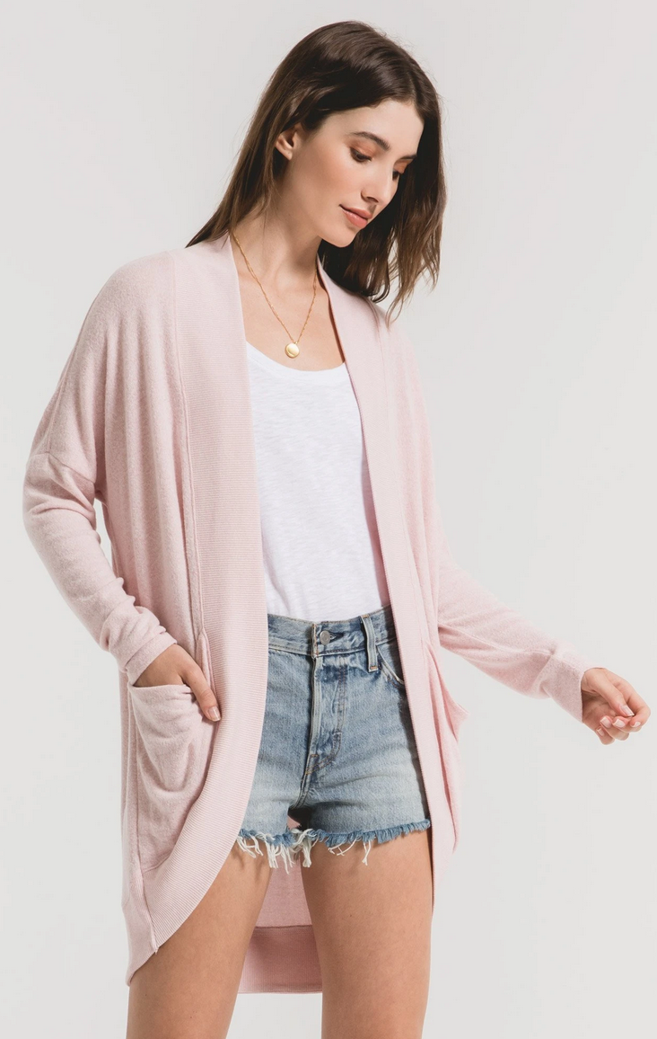 Zsupply - marled cocoon cardi