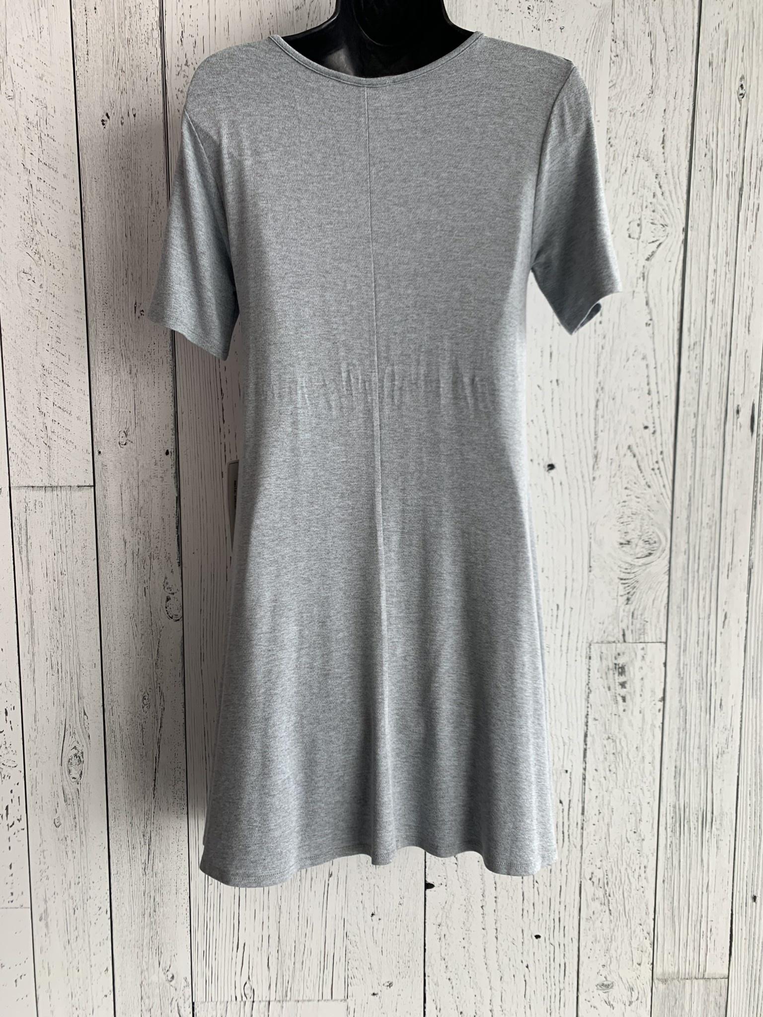 crisscross t-shirt dress