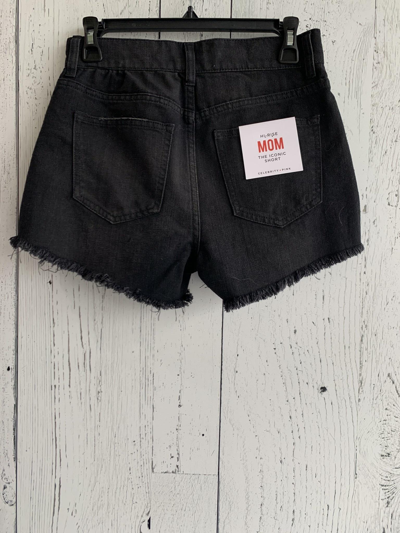 high rise  mom shorts