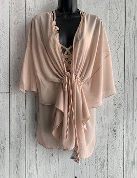 chiffon tie kimono