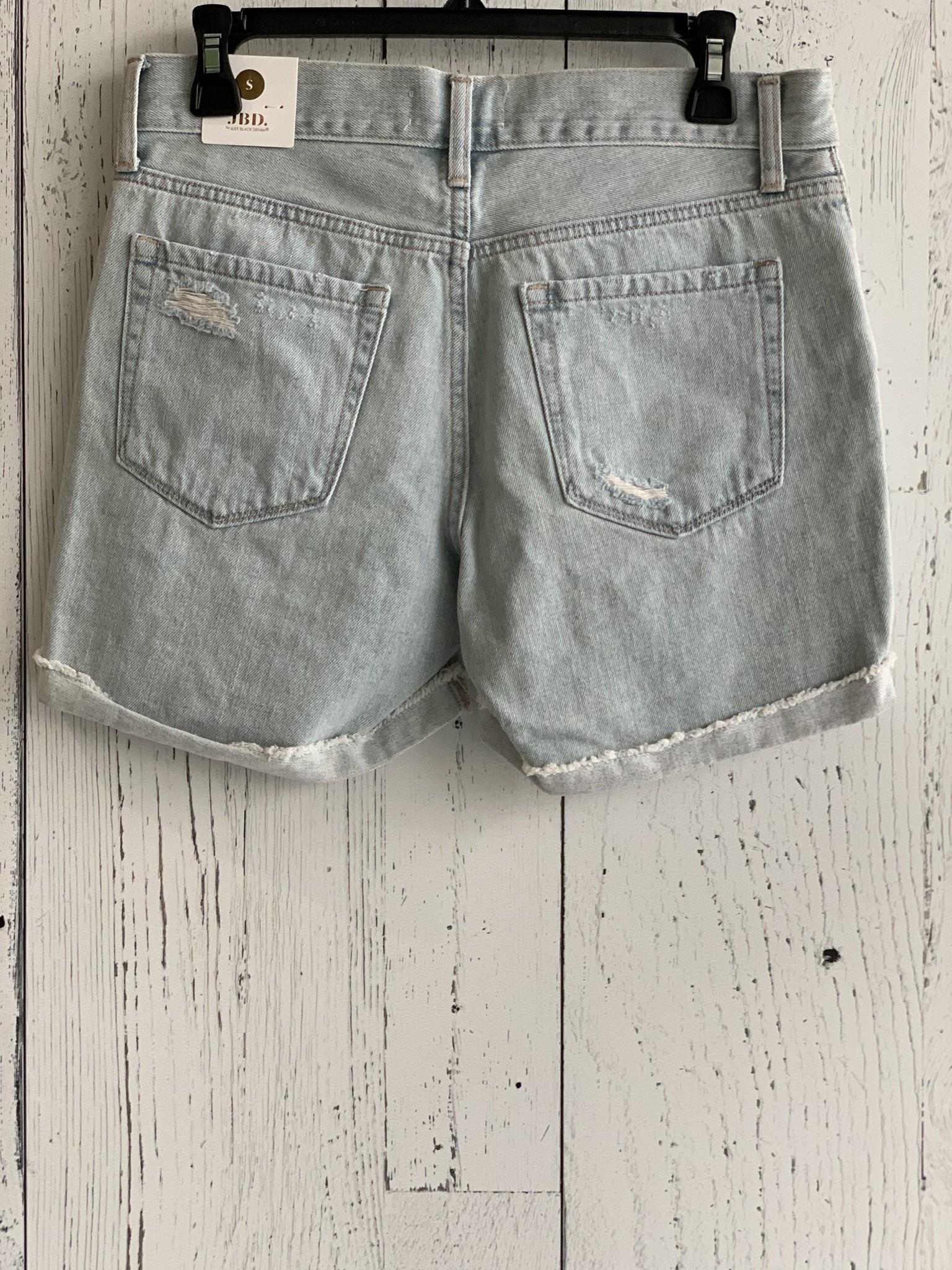 just - distressed boyfriend shorts