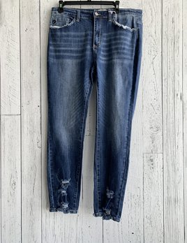 curvy high rise skinny jeans
