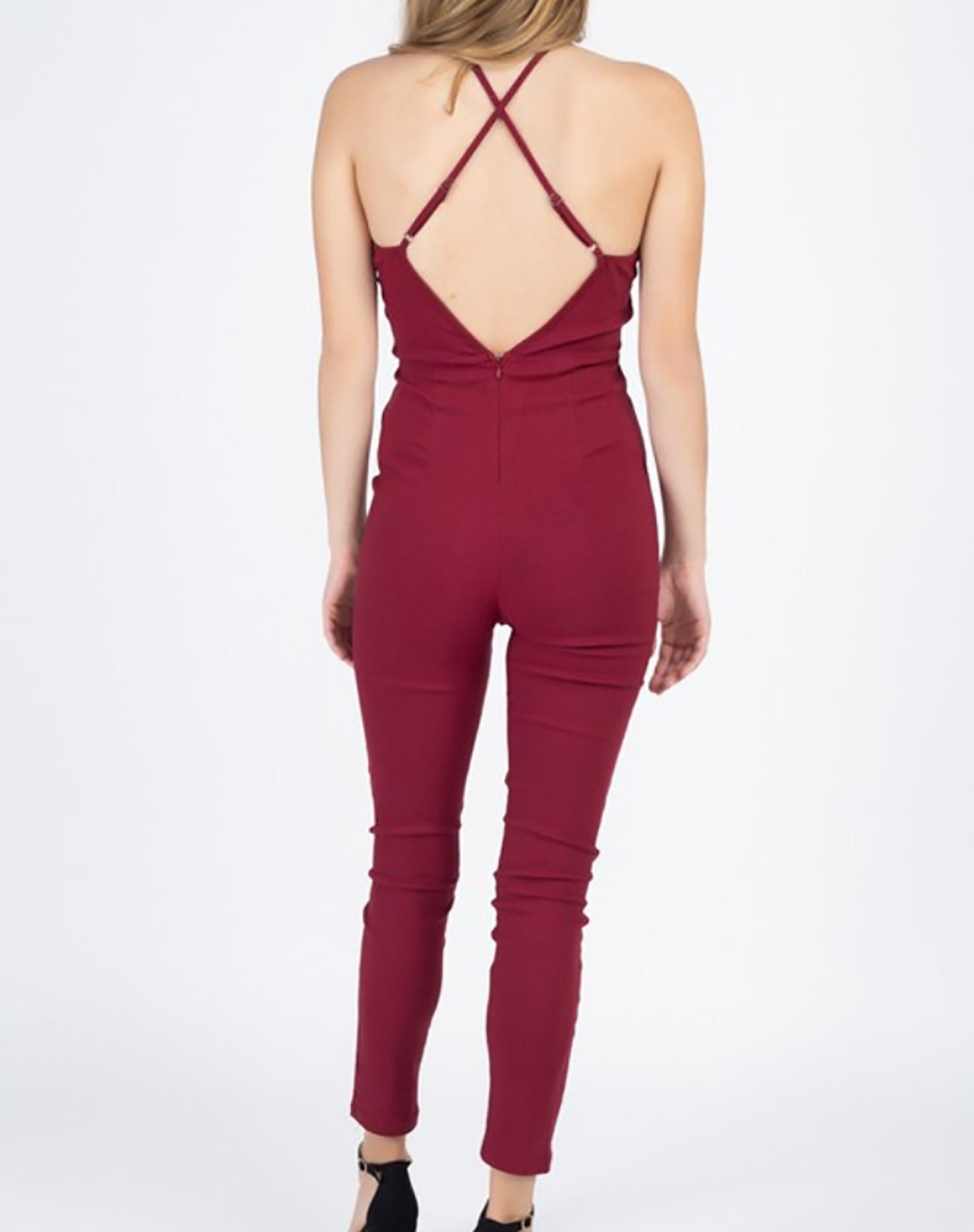 iris - stretch jumpsuit