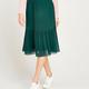 apricot - graduating plisse skirt