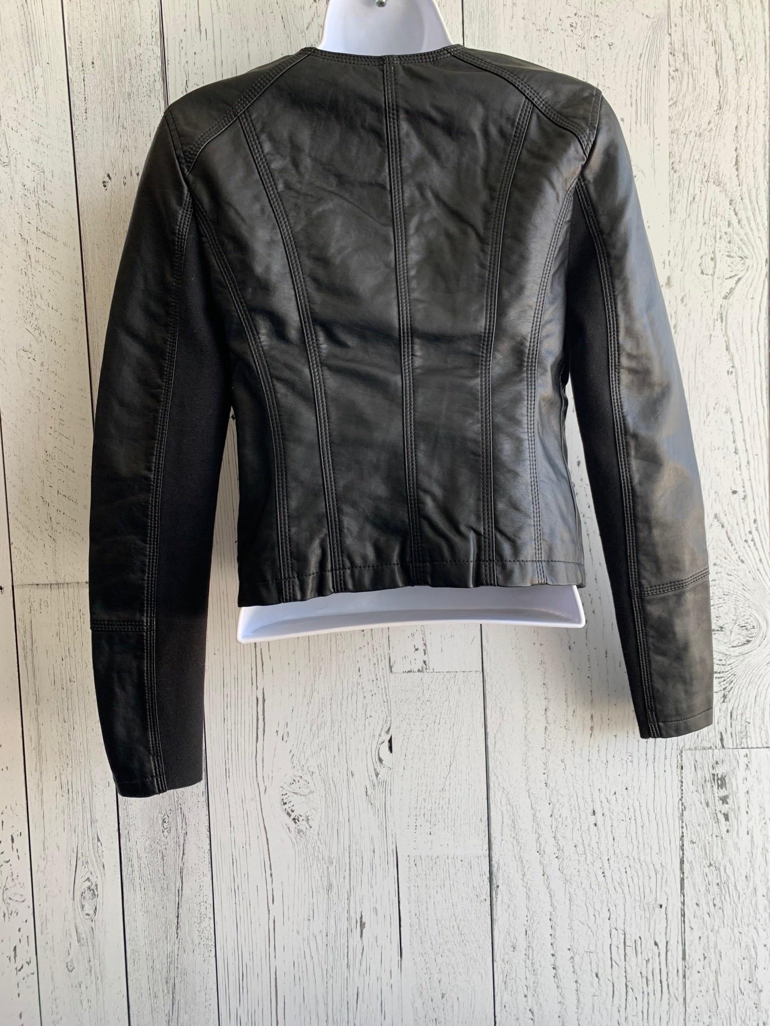 vero moda - short faux leather jacket